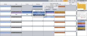WebScheduler in RTL mode
