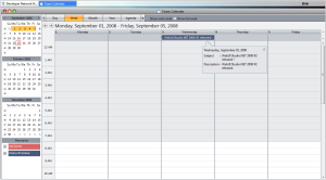 Intersoft event in Team Calendar