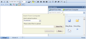 Integration with WebFileUploader