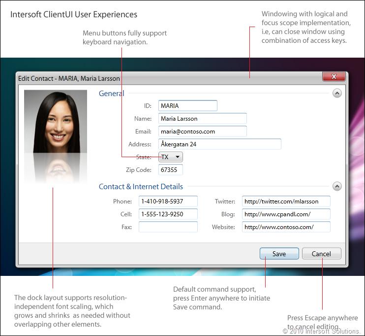 ClientUI User Experiences