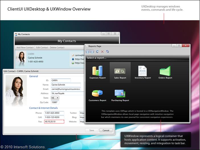 ClientUI UXDesktop