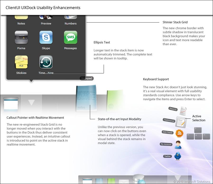 ClientUI UXDock Usability