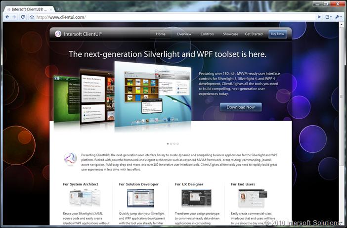 ClientUI.com home page