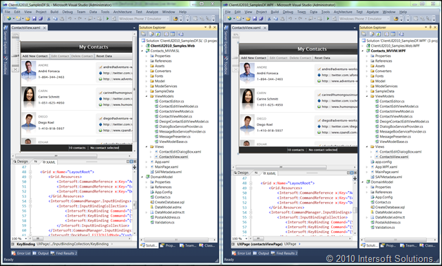 Silverlight & WPF - Truly One Codebase