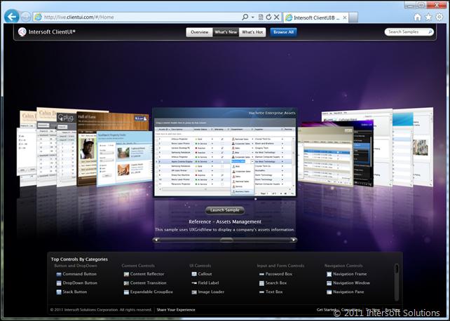ClientUI Live Demos