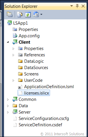 Adding ClientUI license file