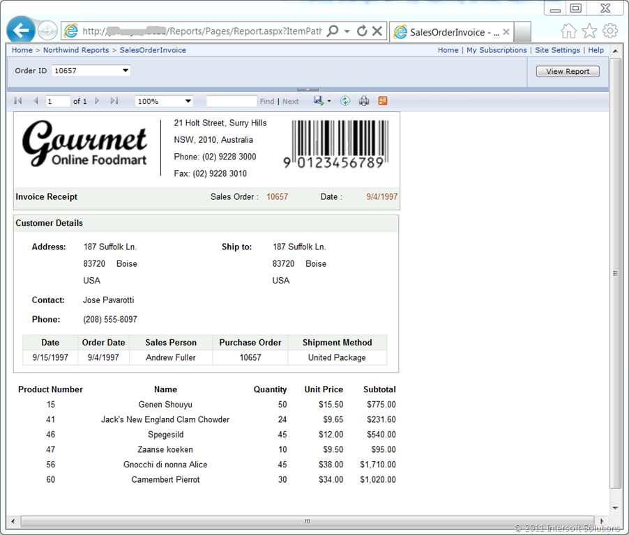 First Look: SQL Report Viewer for Silverlight & WPF