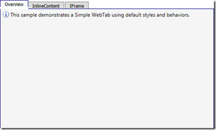 WebTab's structure issue when using HTML5.