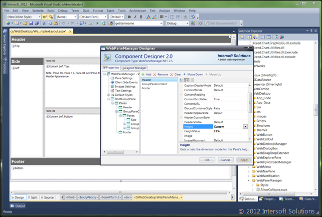 Designer support in older version of Visual Studio