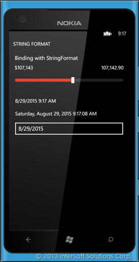 StringFormat Support on Windows Phone