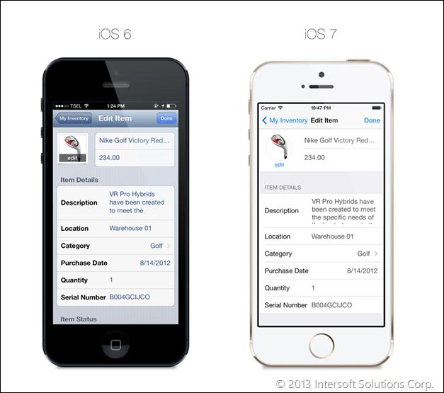 iOS 6 & iOS 7 support