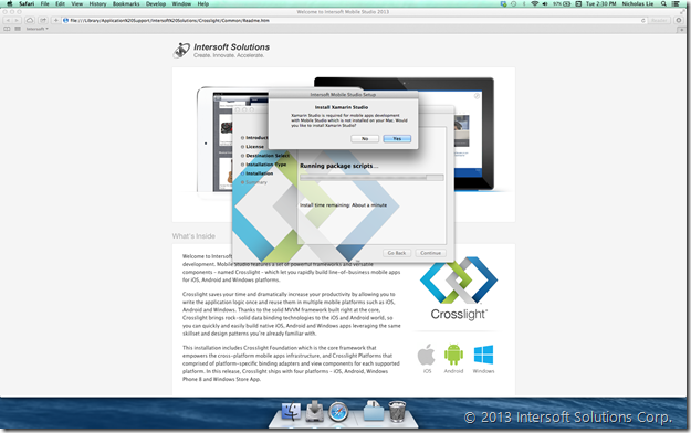 Streamlined Xamarin Installation - 1