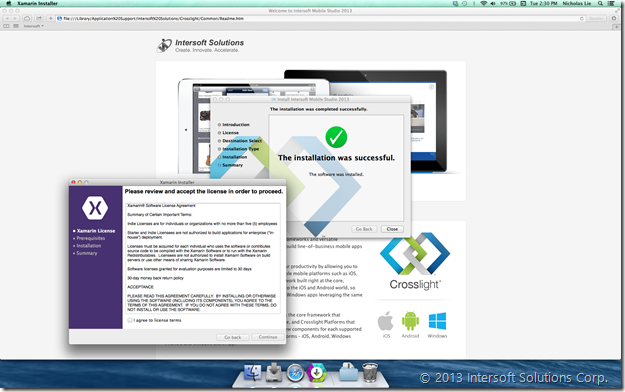 Streamlined Xamarin Installation - 2