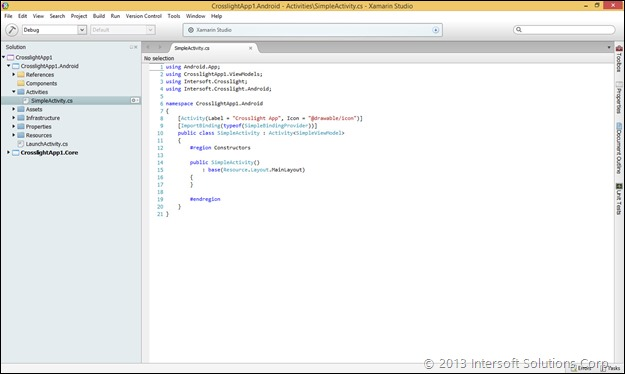 Xamarin Studio on Windows